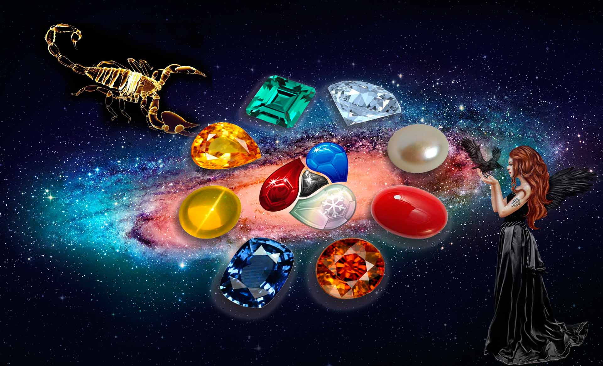 камень оберег за зодиаком