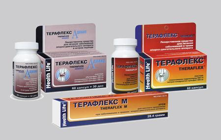 терафлекс при остеохондрозе