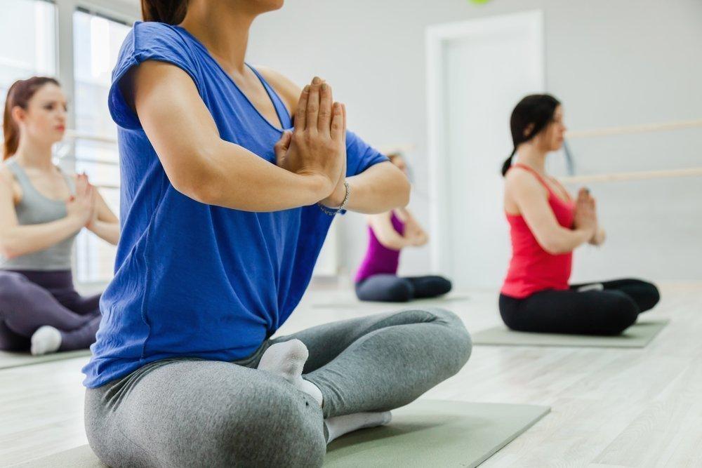 йога в удовольствие