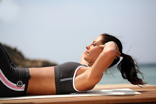 тренировка для мышц живота