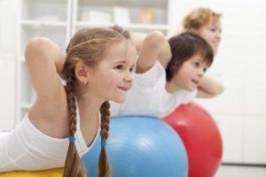 фитнес программа для детей