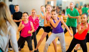 фитнес занятия для детей