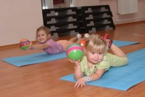 фитнес для детей 3-6 лет
