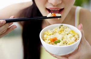 неочищенный рис для похудения