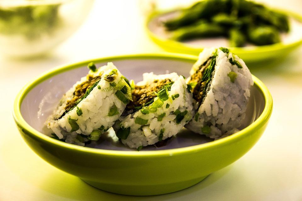 суши из риса