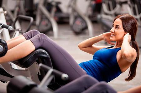 упражнения для талии и боков в зале