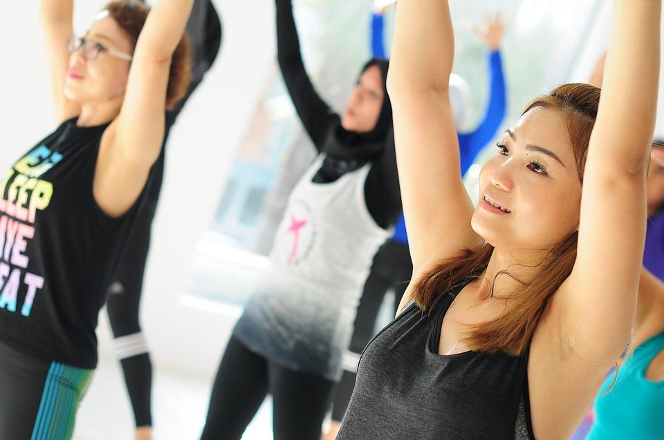 групповые фитнес занятия