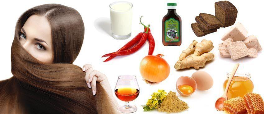 ингридиенты масок для волос